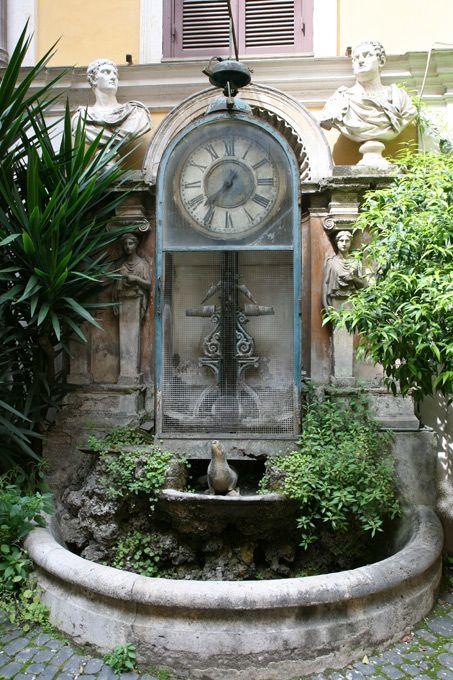 a abreuvoir horloge à eau