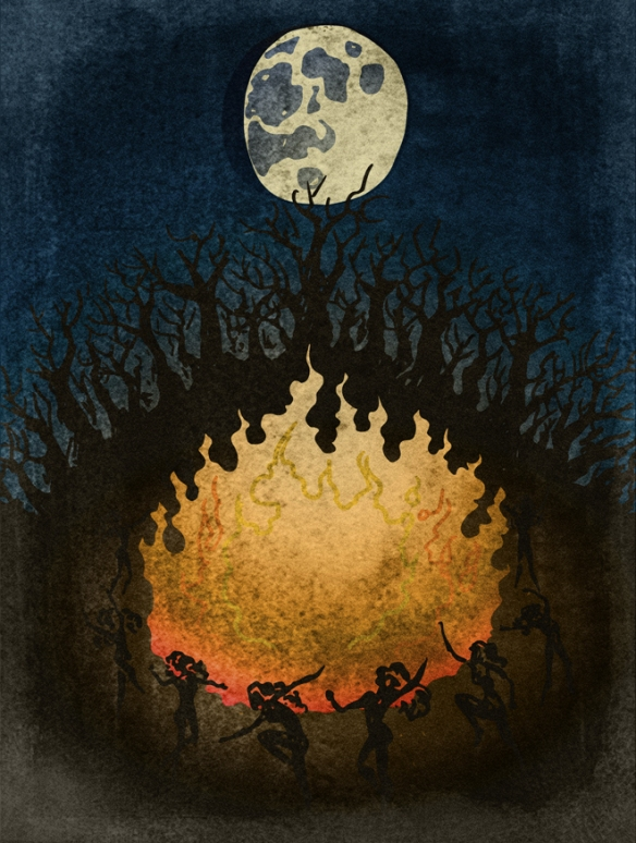 a walpurgis nuit des sorcières