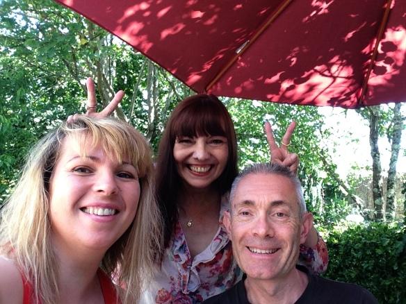 La Douce, Mind et moi en juillet 2016.